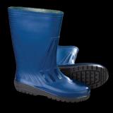 Сапоги резиновые синие