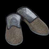 Туфли (тапочки) тканные на резиновой подошве